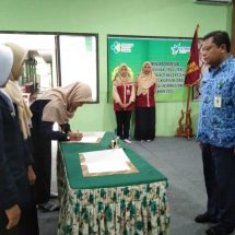 Kepengurusan KADEM dan GUBIM Poltekkes Kemenkes Semarang Prodi Keperawatan Blora Ganti Baru
