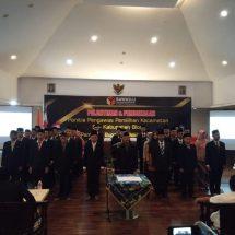 46 Anggota Panwascam Kabupaten Blora Resmi Dilantik