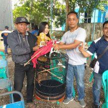 Ratusan Kicau Mania Rebutkan Piala Kapolsek Kunduran Cup