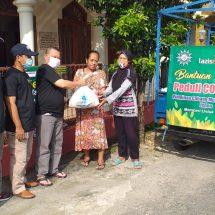Peduli Covid-19, Muhammadiyah Kecamatan Jepon dan Lazismu Bagikan Sembako