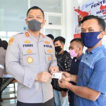 30 Warga Blora Lahir 1 Juli Peroleh SIM Gratis dari Satlantas Polres Blora