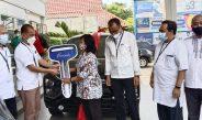 Mimpi Gendong Anak, Ibu Rumah Tangga Raih Hadiah Mobil Tabungan Bima Bank Jateng