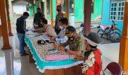 TNI Polri Pantau Pembagian BLT Dana Desa Tahap III di Kradenan
