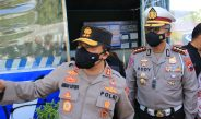 Kapolda Tinjau Pos Penyekatan PPKM Darurat di Cepu