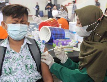 Cegah Klaster PTM, Pemkab Blora Gelar Vaksinasi Bagi Pelajar