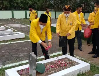 HUT Ke-57, DPD Partai Golkar Blora Ziarah di TMP Wira Bakti